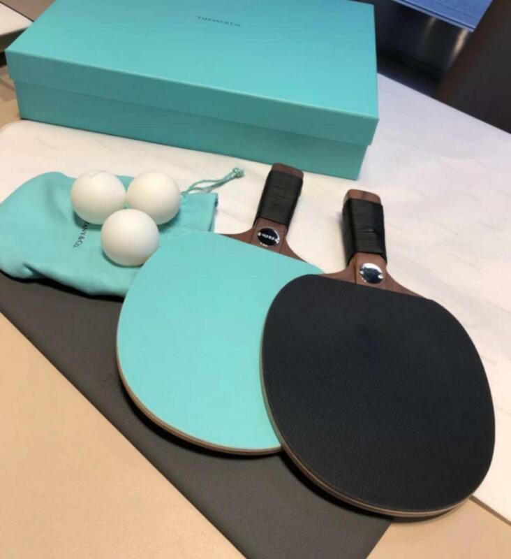 Tiffany&Co. Table Tennis Racket Rare F/S from Japan