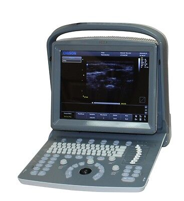 NEW CHISON ECO1-VET VETERINARY ULTRASOUND SCANNER W/ MICRO-CONVEX PROBE AND PRINTER