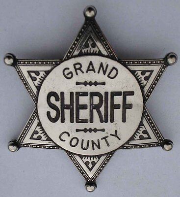 SHERIFF STERN    GRAND COUNTY    USA    WILD WEST    COUNTRY -
