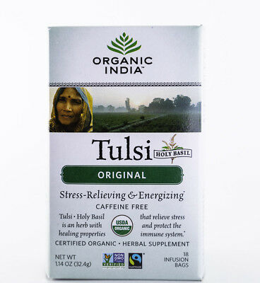 Organic India - Tulsi Original Tea - 18 Bags, 1.14 (Original Tea Bags)