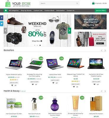 Online Shop Store Website   Multi Sellers Marketplace