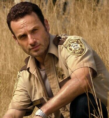 Sheriff RICK GRIMES KING COUNTY SHIRT HI QUALITY SHIRT Costume Walking Dead