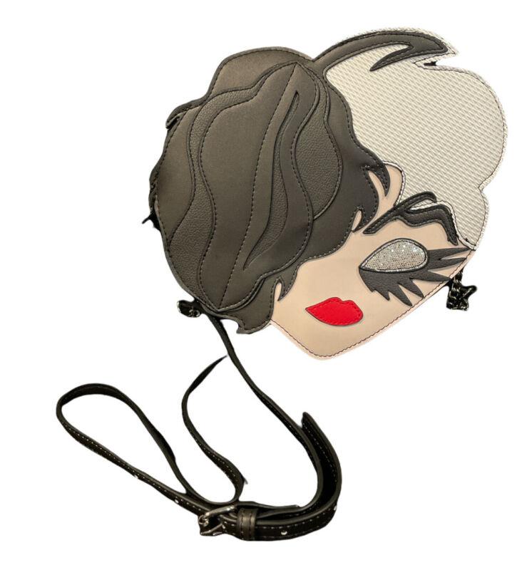 Danielle Nicole Disney Cruella Die Cut Crossbody Bag New In Hand