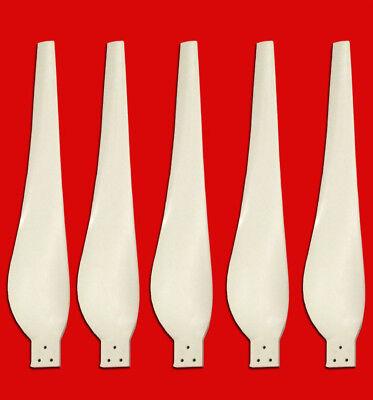 Stealth Storm Wind Turbine Blade Set 36 Inch 5 Pcs Wind Generator Blades