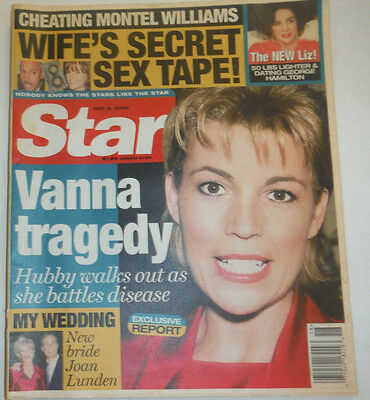 Star Magazine Vanna White   Montel Williams May 2000 020615R