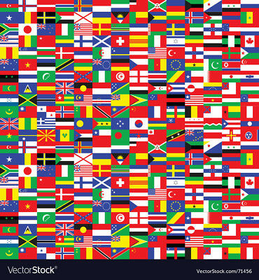 BRAND NEW BEST QUALITY YOUR CHOICE WORLD FLAG BUMPER STICKER ADHESIVE MINI DECAL (Best Stickers)