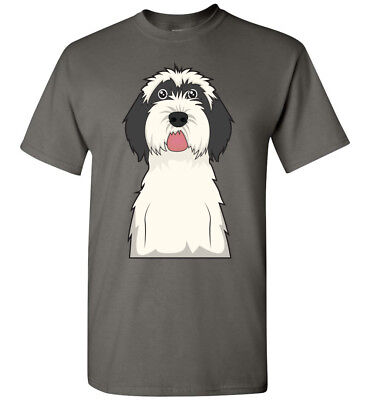 Tibetan Terrier Dog Cartoon T-Shirt Tee - Men Women Youth Kids Tank Long Sleeve Tibetan Terrier T-shirt