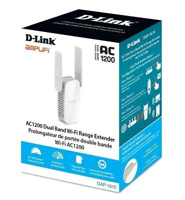 NEW SEALED--D-Link DAP-1610 AC1200 Dual-Band Wi-Fi Range Extender