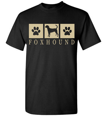 Foxhound Silhouette (Foxhound Silhouette T-Shirt Tee - Mens, Womens, Youth, Tank, Short, Long Sleeve)