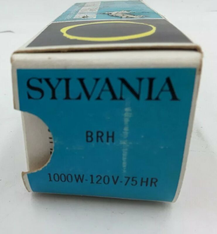 NOS SYLVANIA BRH PROJECTION / PROJECTOR LAMP BULB 120V  1000W