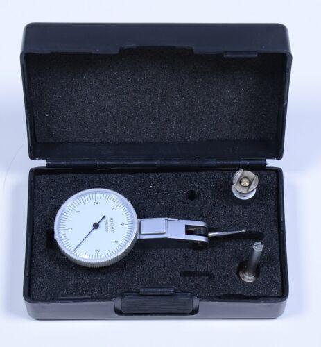 "Horizontal Dial Test Indicator 25030L Graduation  .0001""  in Original Hard Case"