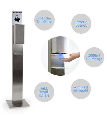 Desinfektionsmittelspender Desinfektion Sensor 1000ml Spender stehend Ständer