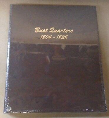 Dansco Coin Album   6141 Bust Quarters 1804   1838 United States U S