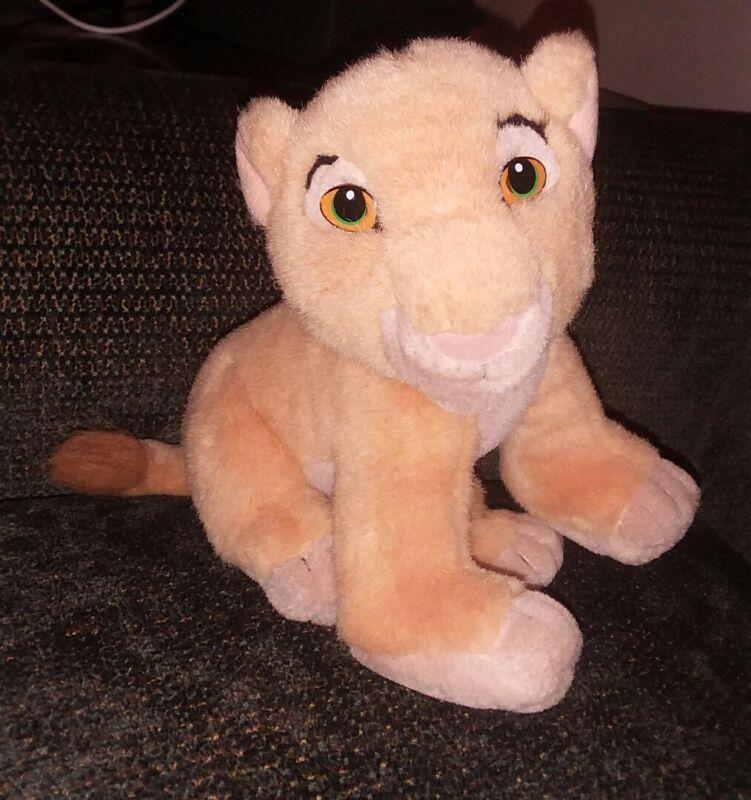 Vintage Mattel Disney 1993 Lion King Baby Simba Nala Plush 8