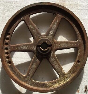 Hobart Lower Or Upper 14 Pulley Wheel For Hobart Meat Saw 5014 5114 5214