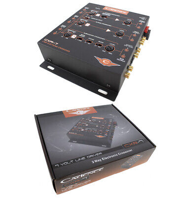 R7 3-Way Electronic Crossover with 7V Line Driver Car Audio (3 Way Electronic)