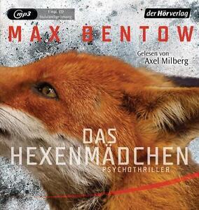 + Bentow Max : Das Hexenmädchen MP3 HörBuch NEU Ungekürzte Lesung Nils Trojan