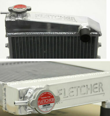 FLETCHER ALLOY RADIATOR CLASSIC MINI 1959-92 AUSTIN MORRIS COOPER ROVER CARB