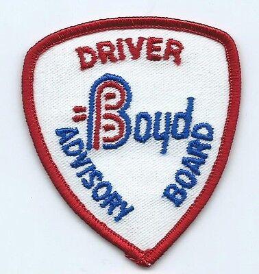 Boyd Driver Advisory Board Patch 2 7 8 X 2 1 2  898