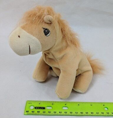 Precious Moments Tender Tails Horse Pony Tan Gold Plush Stuffed Animal Enesco