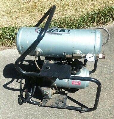 Gast Compressor 2hah-91t-m200x Oil-less Electric 14 Hp 100 Psig 7 Bar Emerson