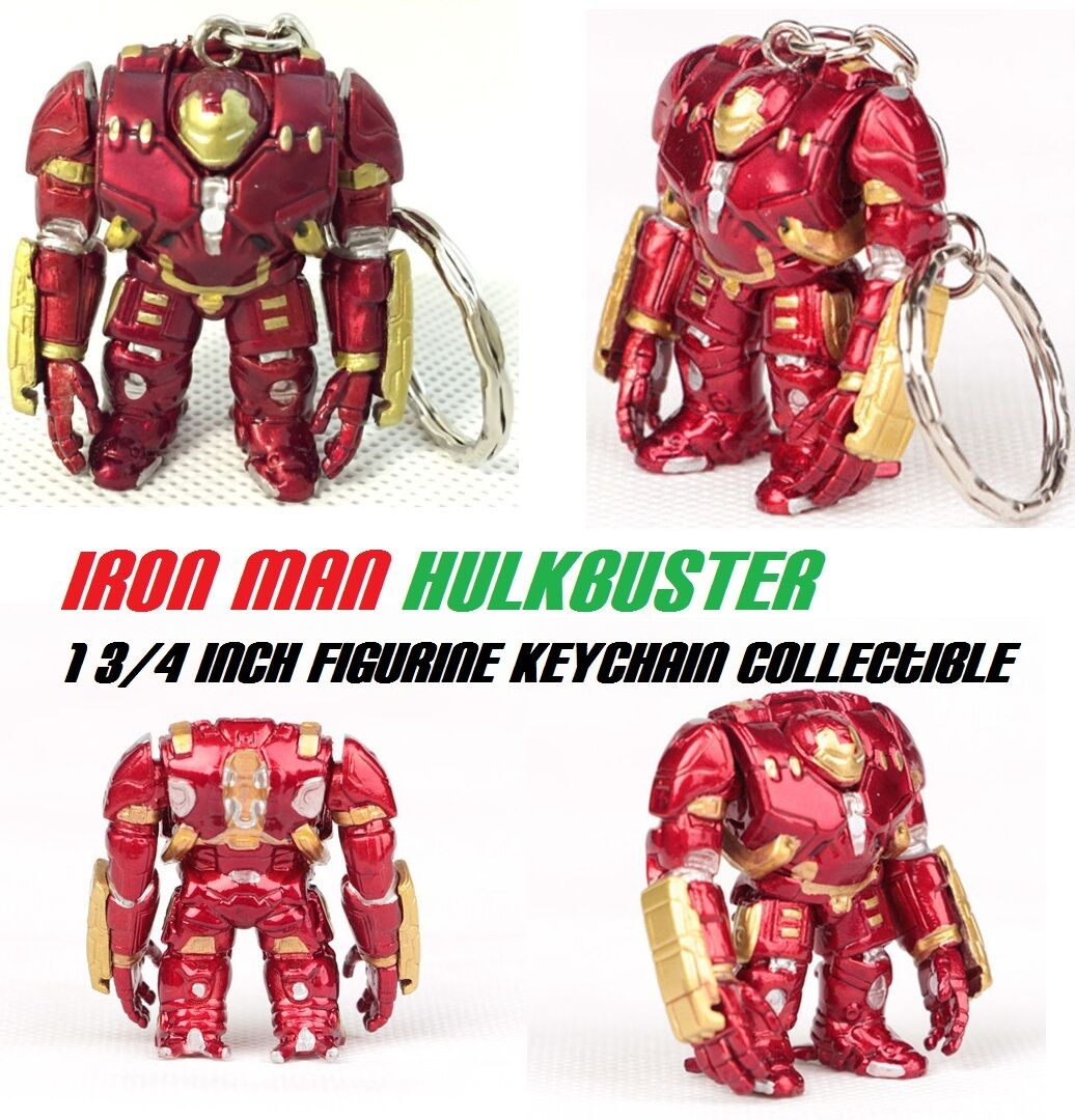 Iron Man Hulk Buster Hulkbuster AOU Infinity war thanos Avengers Figure Keychain