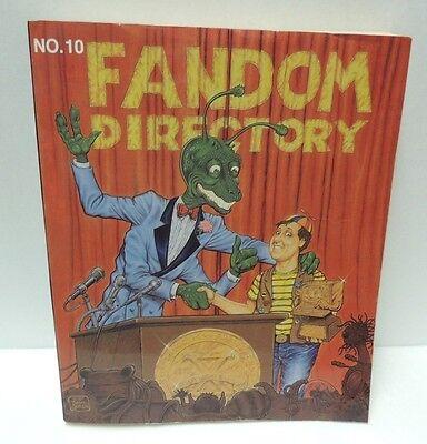 Fandom Directory (1988-1989) Everything a SCI FI Fan Needs by Mariane S Hopkins