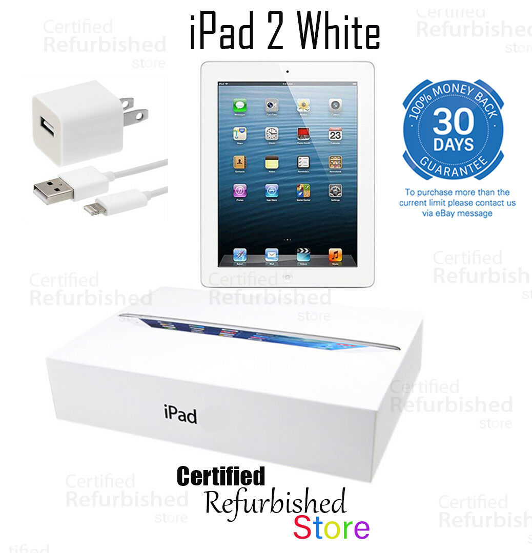 Ipad 2 - NEW Apple iPad 2 32GB, Wi-Fi, 9.7in - White