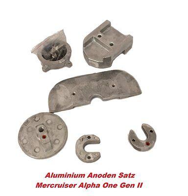 Aluminium Anoden für Z-Antrieb Alpha One Generation II Anodensatz Mercruiser Alu