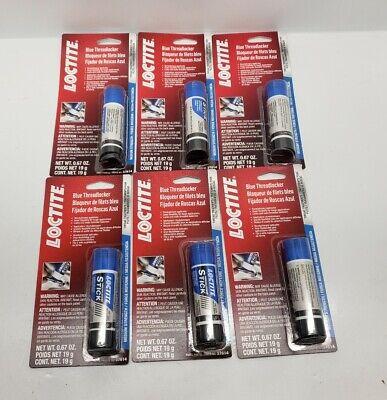 Loctite 37614 Medium Strength Blue Stick Threadlocker-19g Case Of 6
