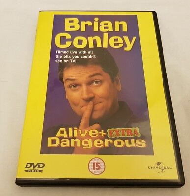 Brian Conley - Alive And Extra Dangerous (DVD, 2001)