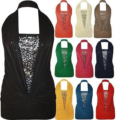 - Plus Size Schwarz Pailletten Kleid