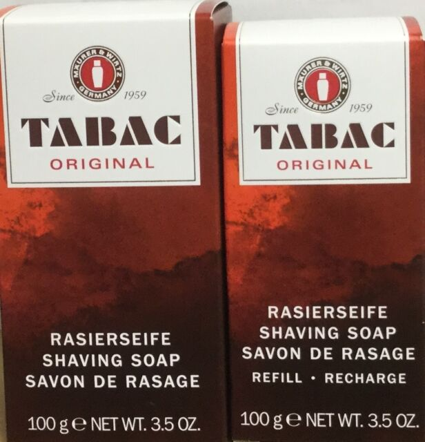 Duo Tabac Original Shaving Soap Stick 100g plus Shaving Soap Refill 100g multiby