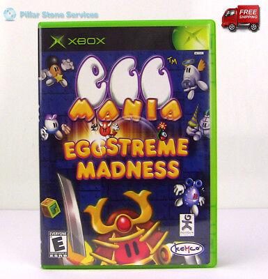 Egg Mania Eggstreme Madness Microsoft Xbox Video Game Complete ()