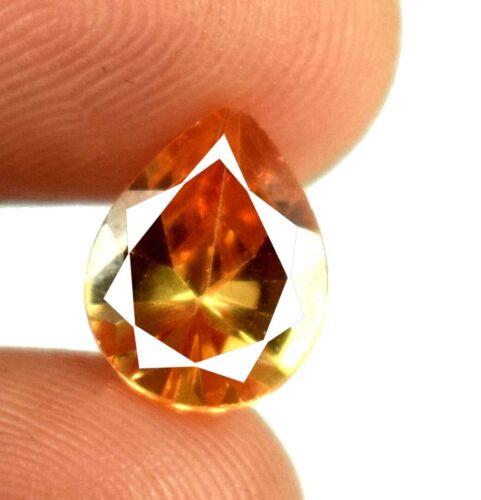 Loose Gemstone 4.15 Ct Pear Pakistan Brown Axinite 100% Natural Certified A15654