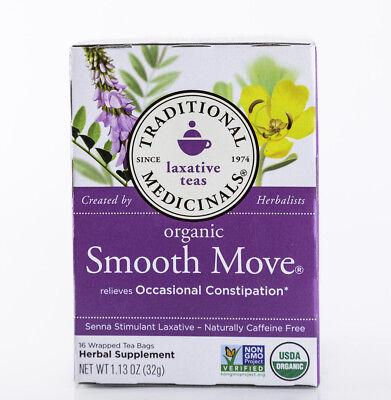 Traditional Medicinals Tea - Organic Smooth Move - Original - 16 Bags - (Original Tea Bags)