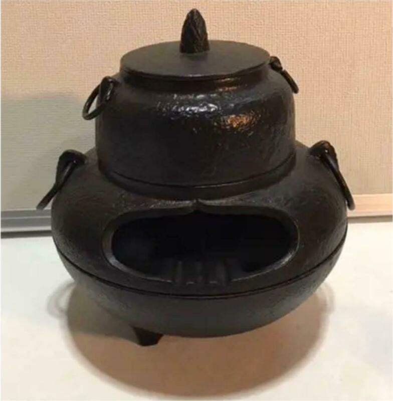 Chagama Tea potJapanese traditional crafts Free shipping