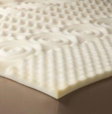 Room Essentials Comfy Foam Mattress Topper for Queen Bed