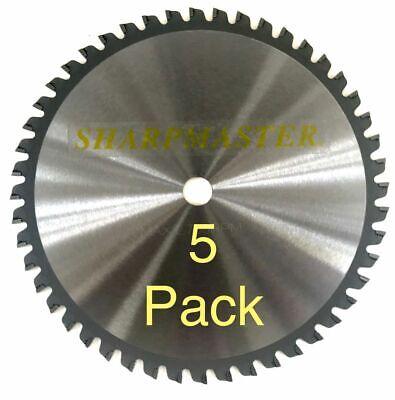 8 48 Tooth Metal Cutting Aluminum Circular Saw Blade 5 Pack