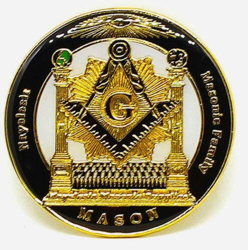 Masonic Family Nayelesis Master Mason Lapel Pin for the Freemason