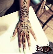 Easy.ink Freehand Temporary Tattoo Ink kit,SUPER DARK INK,pure Jagua,NOT Henna