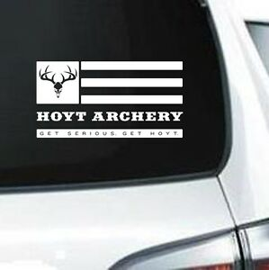 Archery Decal EBay - Bowtech custom vinyl decals for trucks
