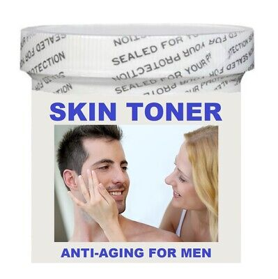 FACIAL SKIN TONER FOR MEN- ANTI-AGING CREAM 4 OZ. - MADE IN USA