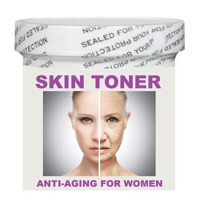 FACIAL SKIN TONER FOR WOMEN- ANTI-AGING CREAM 4 OZ. - MADE IN USA
