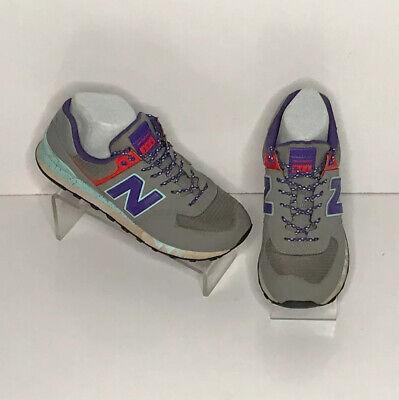 new balance 574 Sneakers women 8.5 Running Jogging Walking Shoe Gray