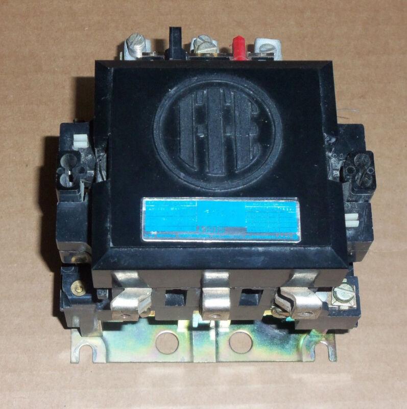 ITE Siemens A103D Nema Size 2 Motor Starter 3 Phase 600v 50 Amp 25HP 120v Coil