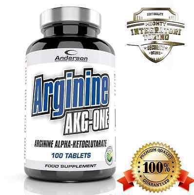 Integratore Anderson Arginine Akg 100 cpr aminoacido L-Arginina Erezione