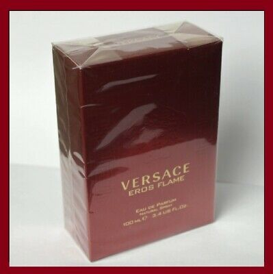 VERSACE EROS FLAME for Men 3.4 oz 100 ml Cologne RED Fragrance Spray NEW Perfume