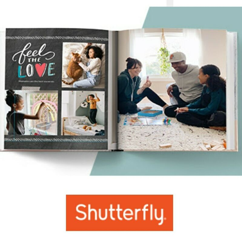 Shutterfly Code 8x8 Photo Book OR $ off larger size,  Exp  11/30/21 New Customer