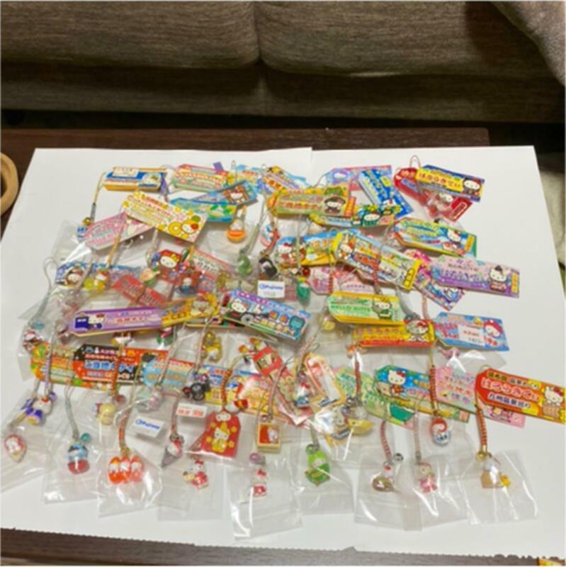 SANRIO Vintage Hello Kitty Keychain Charm 48pics Bundle Bulk Sale Gotochi Local